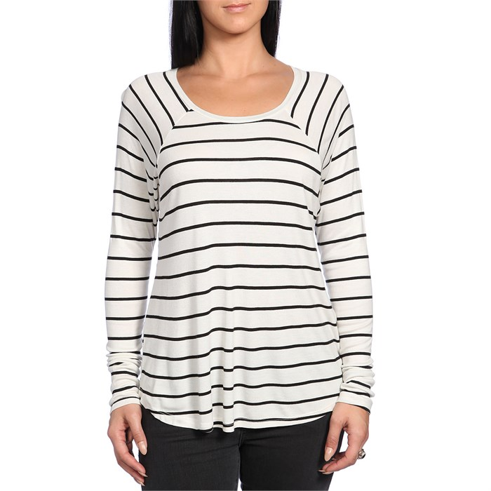 Volcom - Lived In Rib Long-Sleeve Top - Women's