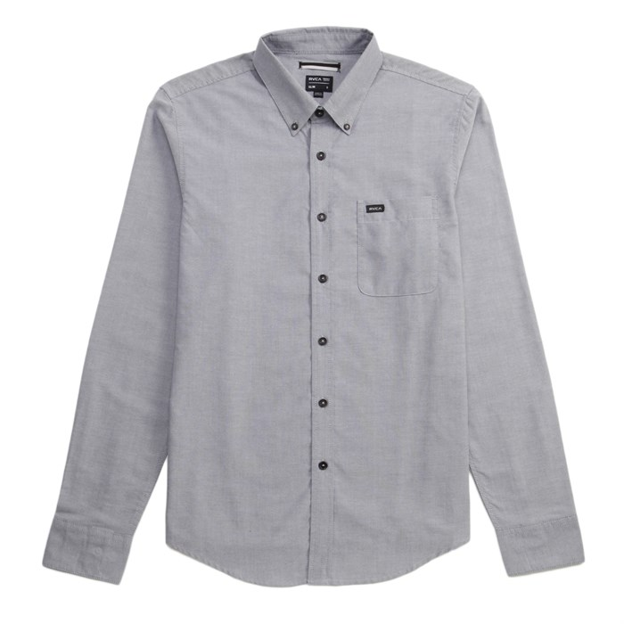 RVCA - That'll Do Oxford Long-Sleeve Button-Down Shirt