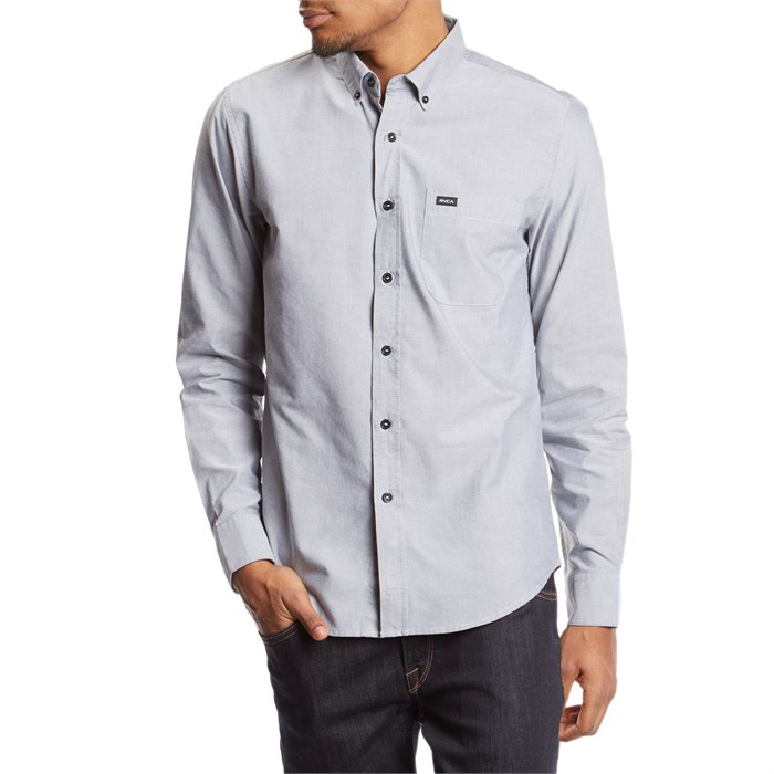 RVCA - That'll Do Oxford Long-Sleeve Shirt