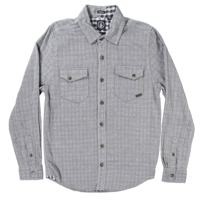 Volcom - Checkmate Long-Sleeve Button-Down Shirt