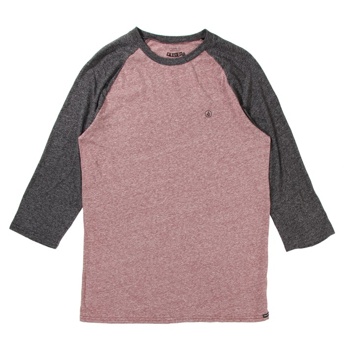 Volcom - Volcom Mock Twist 3/4 Raglan Top