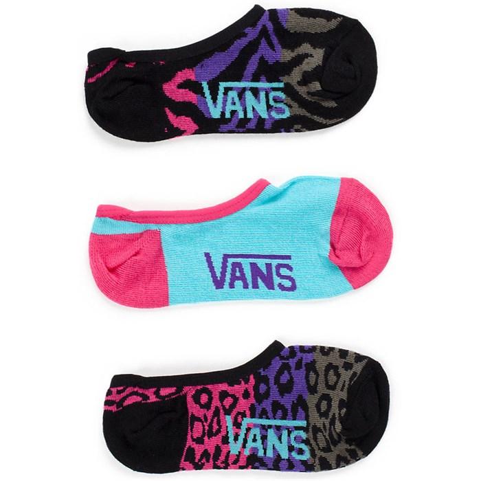 Vans - Animal Canoodle Socks - 3 Pair Pack - Women's