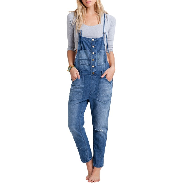 Billabong - Over It All Overalls - Women's