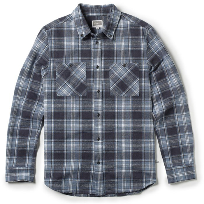 Altamont - Binary Long-Sleeve Button-Down Flannel