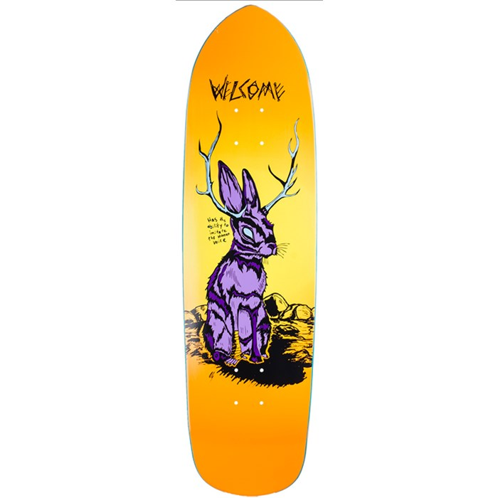 Welcome - Jackalope 8.6 On Squidbeak Shape Skateboard Deck