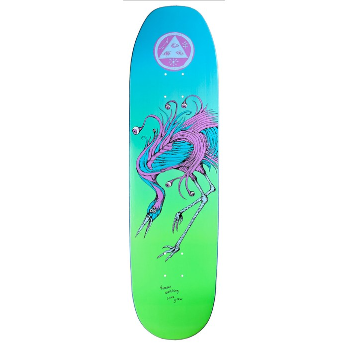 Welcome - Love Watcher 8.5 On Moontrimmer Shape Skateboard Deck