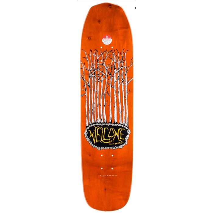 Welcome squid 8 25 on viamana shape skateboard deck evo