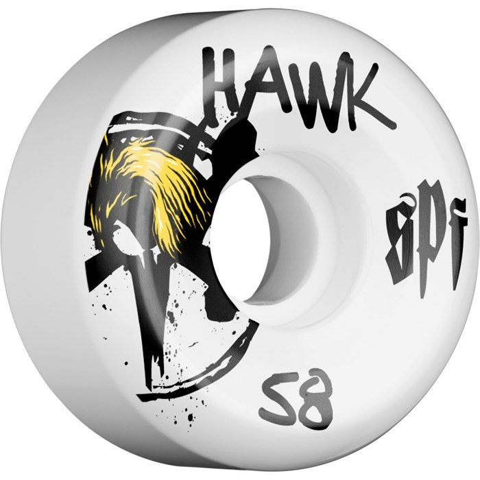 Bones - Hawk McSqeeb Skateboard Wheels