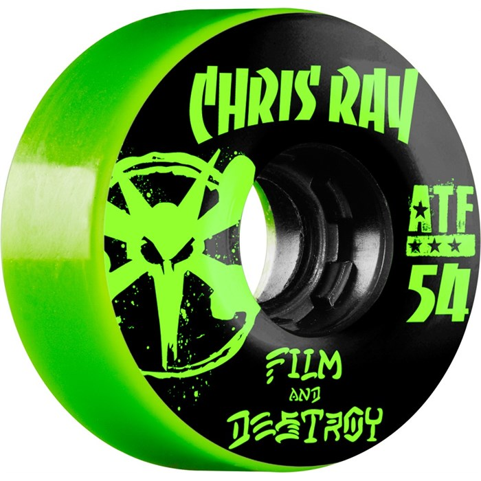 Bones - Chris Ray Destroy 80a ATF Filmer Skateboard Wheels