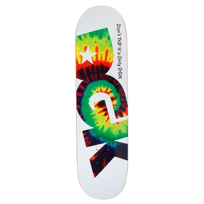 DGK - Don't Trip 8.06 White Skateboard Deck