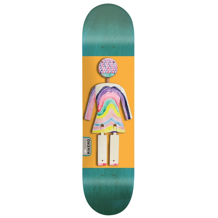 Girl - Mike Mo Capaldi On Exhibit 8.0 Skateboard Deck
