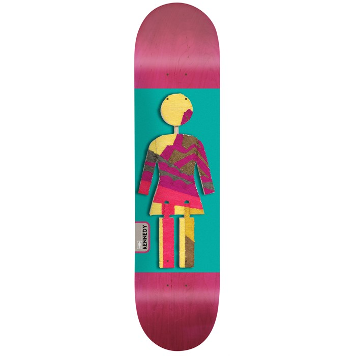 Girl - Cory Kennedy On Exhibit 8.0 Skateboard Deck