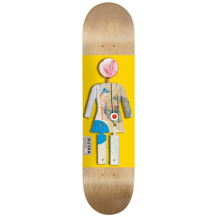 Girl - Sean Malto On Exhibit 8.125 Skateboard Deck