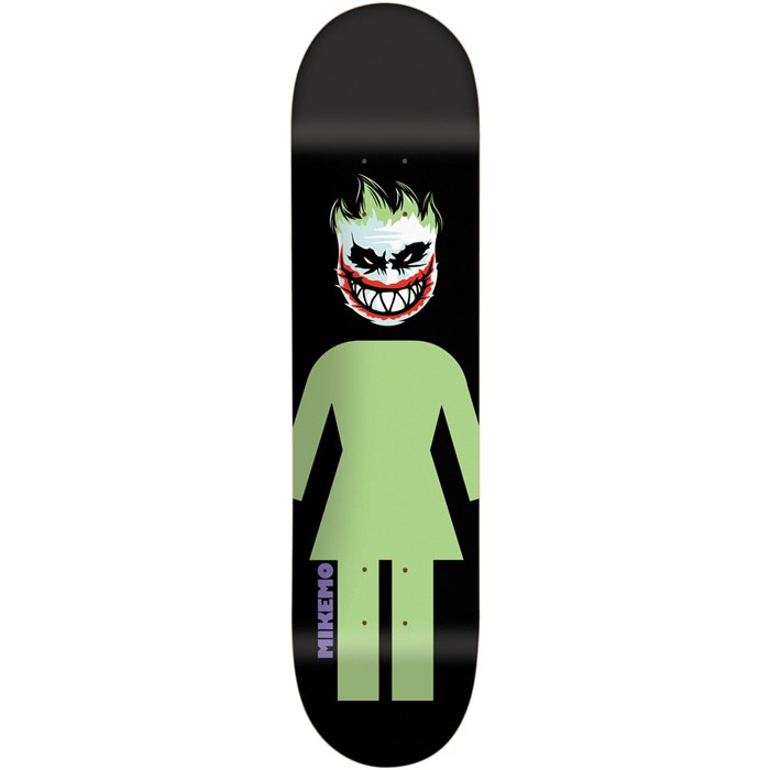 Girl - Mike Mo Capaldi Joker Spitfire 8.0 Skateboard Deck