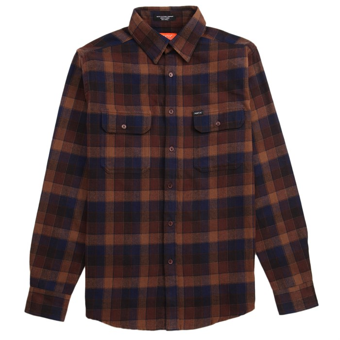 Matix - Ridgeport Long-Sleeve Button-Down Flannel