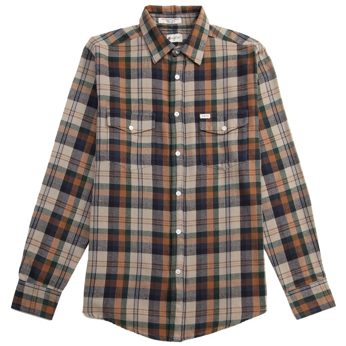 Matix - Brooklyn Long-Sleeve Button-Down Flannel