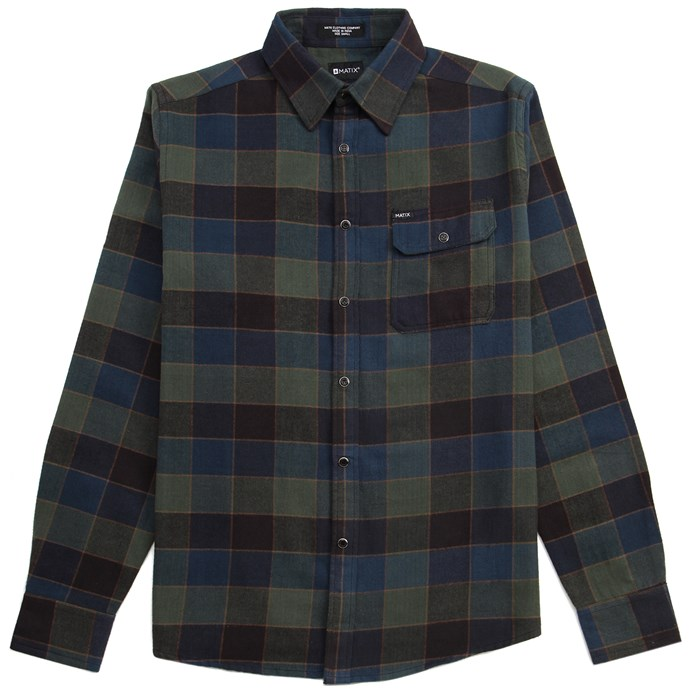 Matix - Bodie Long-Sleeve Button-Down Flannel