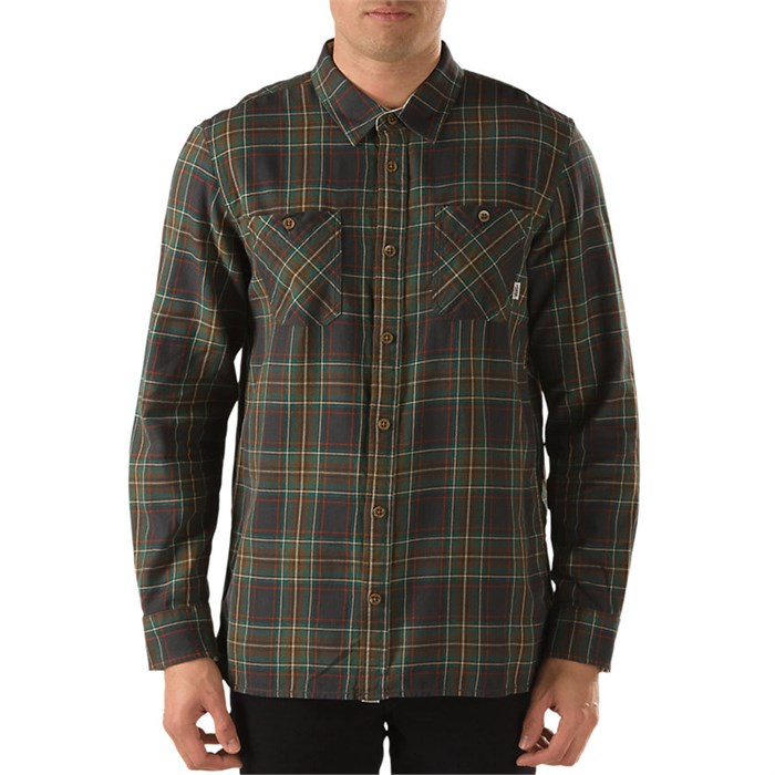 Vans - Birch Long-Sleeve Button-Down Shirt