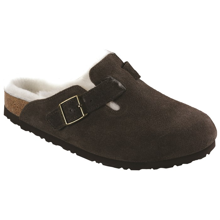 Birkenstock Women's 'Boston' Genuine Shearling Lined Clog ItC5pHkUsW