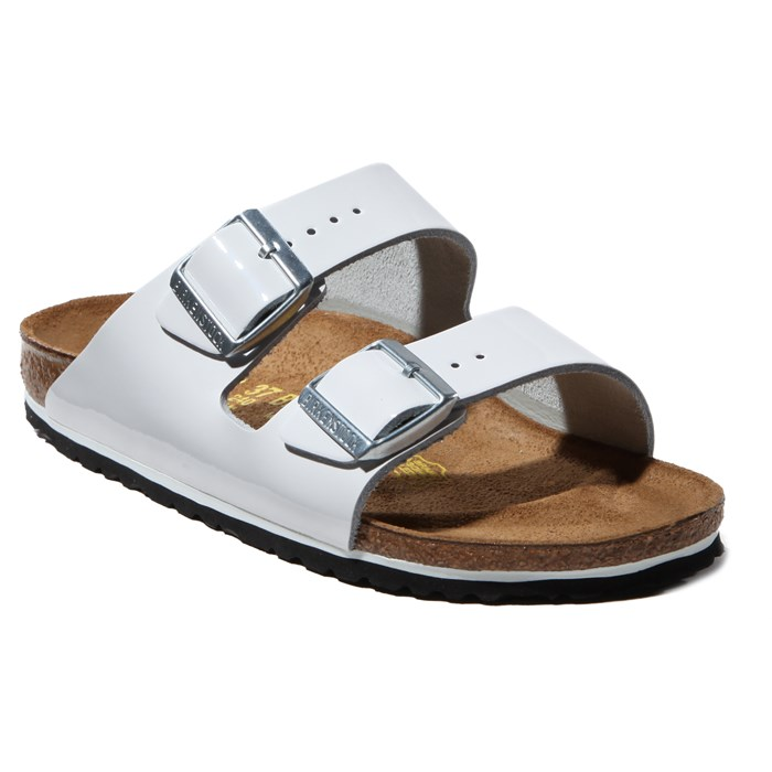 Birkenstock - Arizona Patent Leather Sandals - Women's