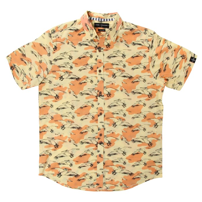 Tavik - Gullwing Short-Sleeve Button-Down Shirt