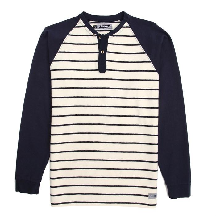SUPERbrand - Flow Henley Long Sleeve Knit