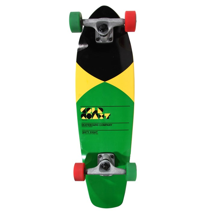 Gold Coast - Pier Yellow Longboard Complete