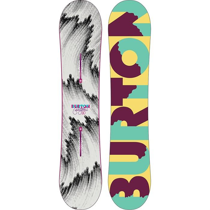 Burton - Feelgood Smalls Snowboard - Girl's 2015 - Used