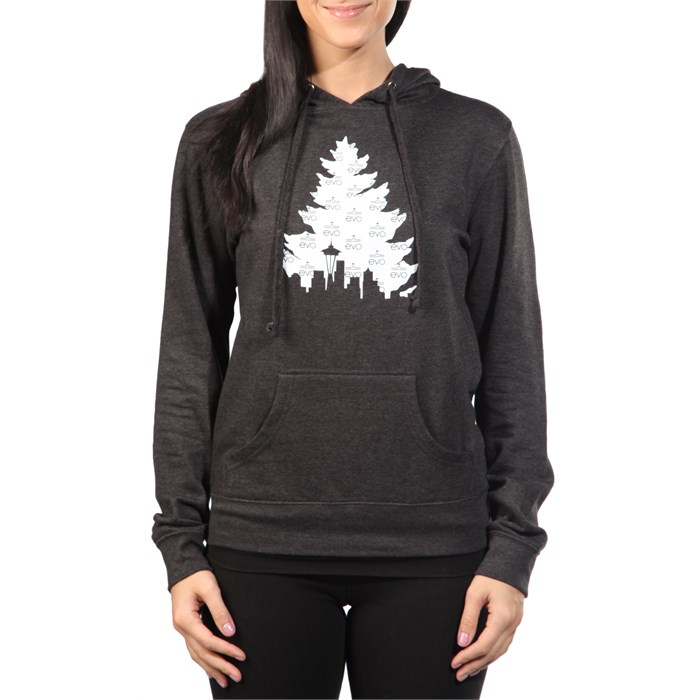 Casual Industrees - evo J Tree Pullover Hoodie - Women's