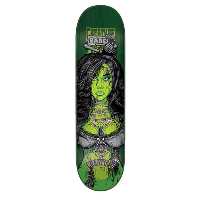 Creature - Babes II D 8.1 Skateboard Deck
