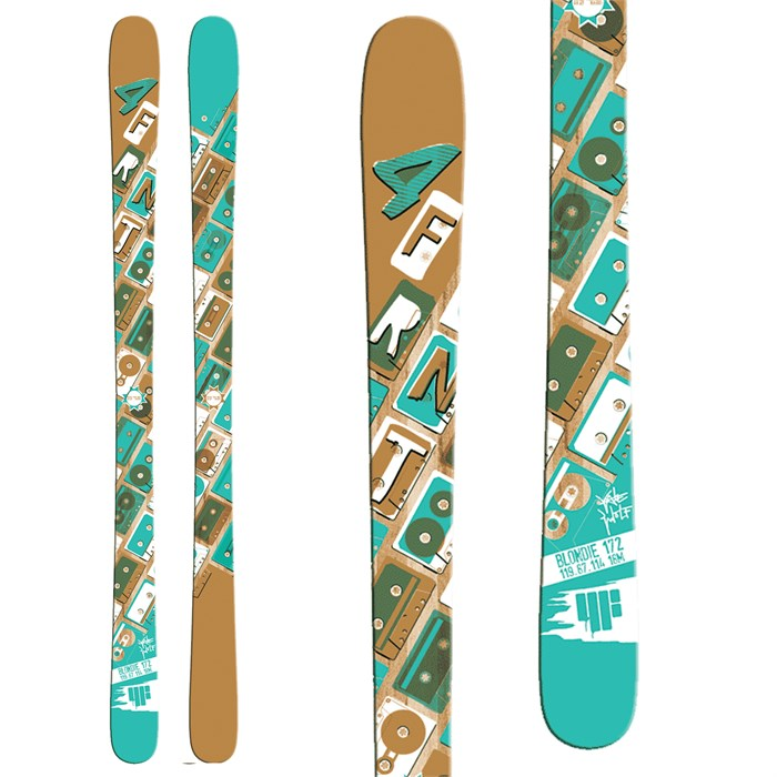 4FRNT - Blondie Skis - Women's 2014