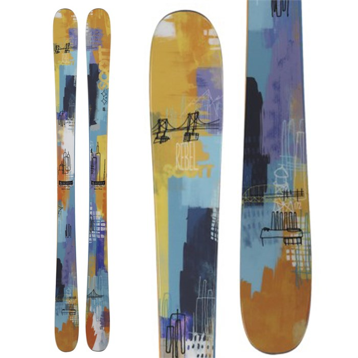 Scott - Rebel Skis - Kid's 2013