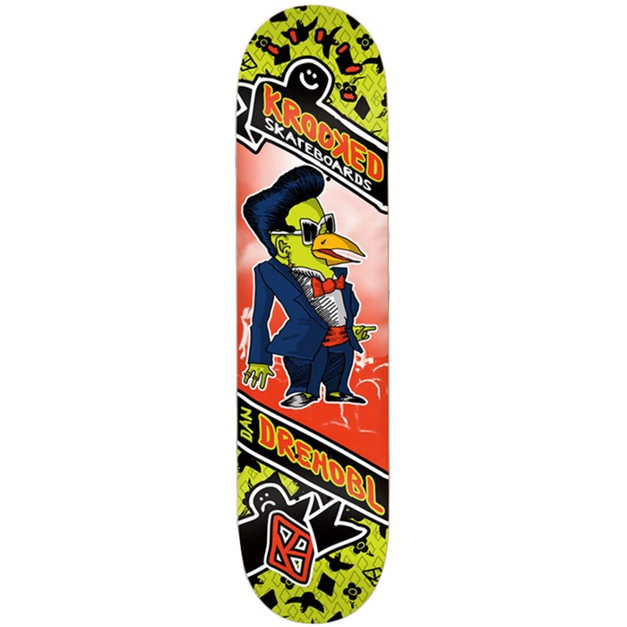 Krooked - Drehobl Songbirds 8.06 Skateboard Deck