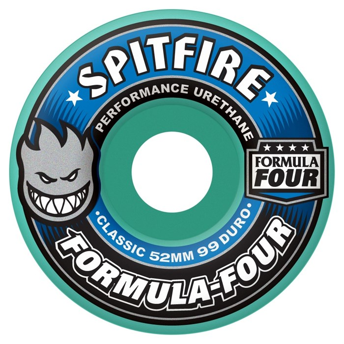 Spitfire - Formula Four 99a Classic Mint Skateboard Wheels