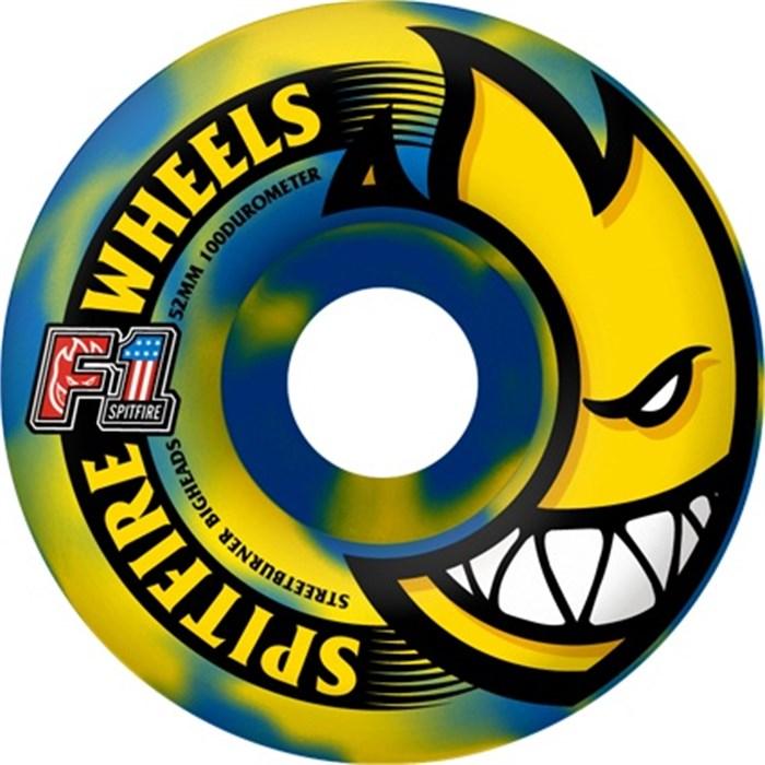 Spitfire - Bighead Suicide Swirl F1 100a Skateboard Wheels