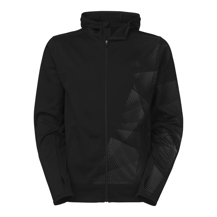 The North Face - The North Face Surgent Full Zip Printed Hoodie