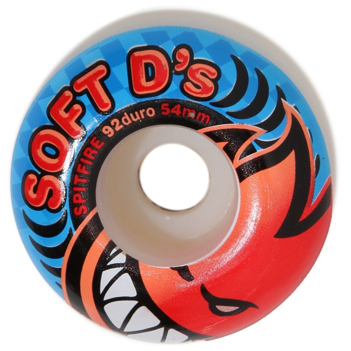 Spitfire - Soft D's 92du Skateboard Wheels