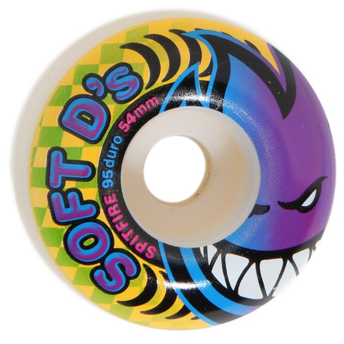 Spitfire - Soft D's 95du Skateboard Wheels