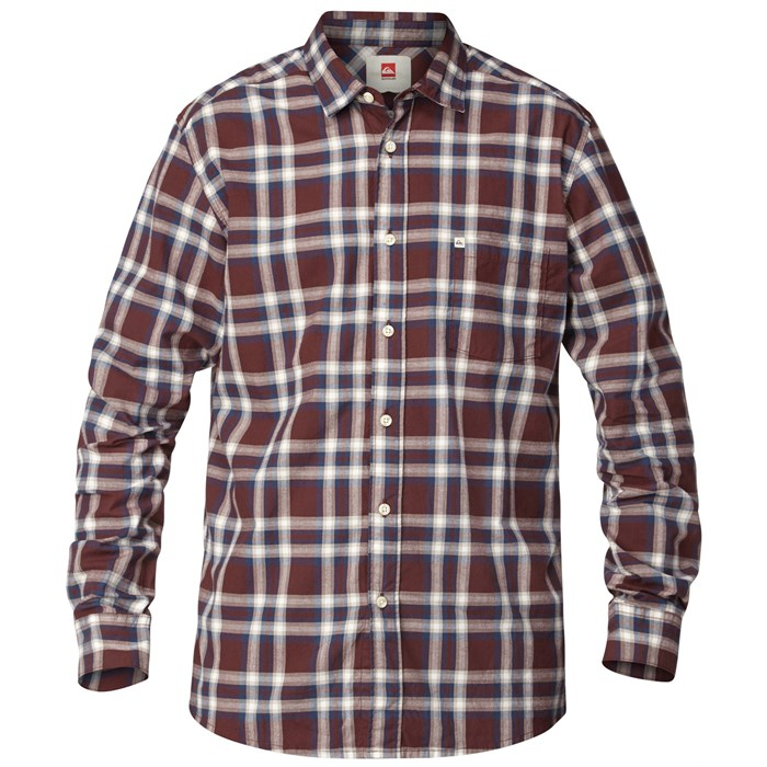 Quiksilver - Biscay Long-Sleeve Button-Down Shirt