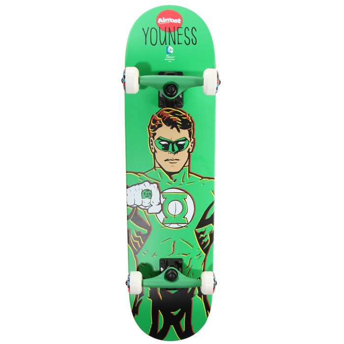 Almost - Youness Green Lantern 8.0 Skateboard Complete