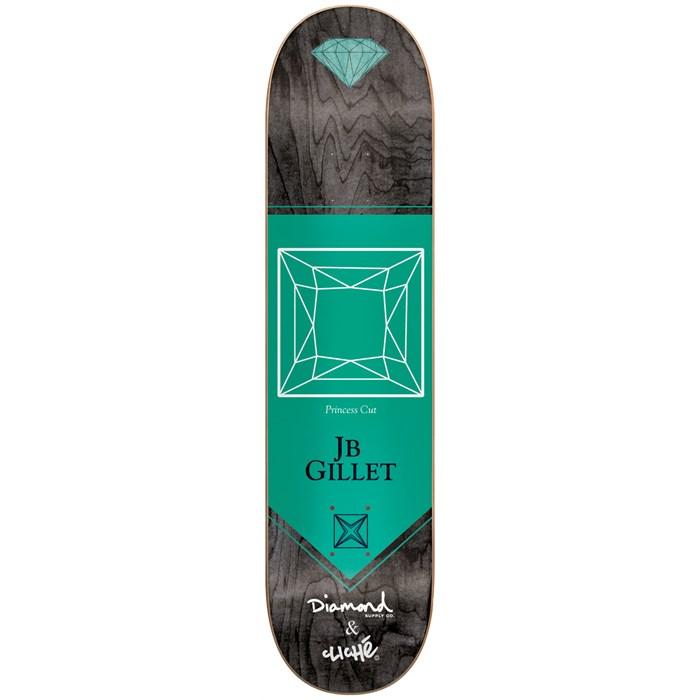 Cliché - Cliche' X Diamond Gillet 8.1 Skateboard Deck