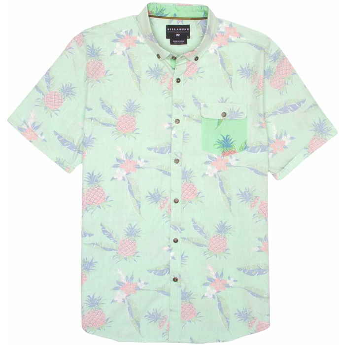 Billabong - Pineapples Short-Sleeve Button-Down Shirt