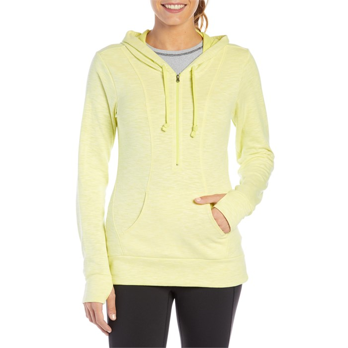 Lucy - Sexy Sweat Half Zip Hoodie - Women's