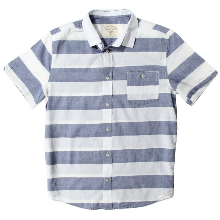 Threads 4 Thought - Threads for Thought Riviera Short Sleeve Button Up Shirt