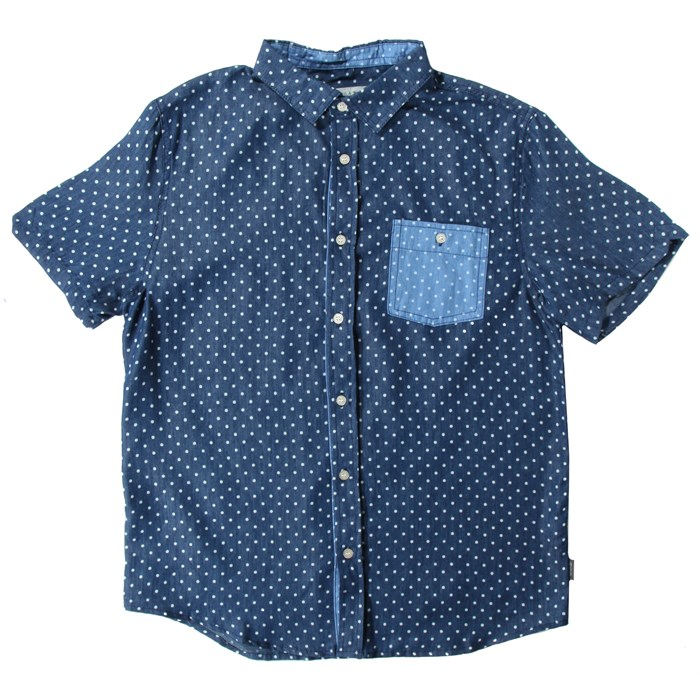 Threads 4 Thought - Threads for Thought Polka Dot Short-Sleeve Button-Up Shirt