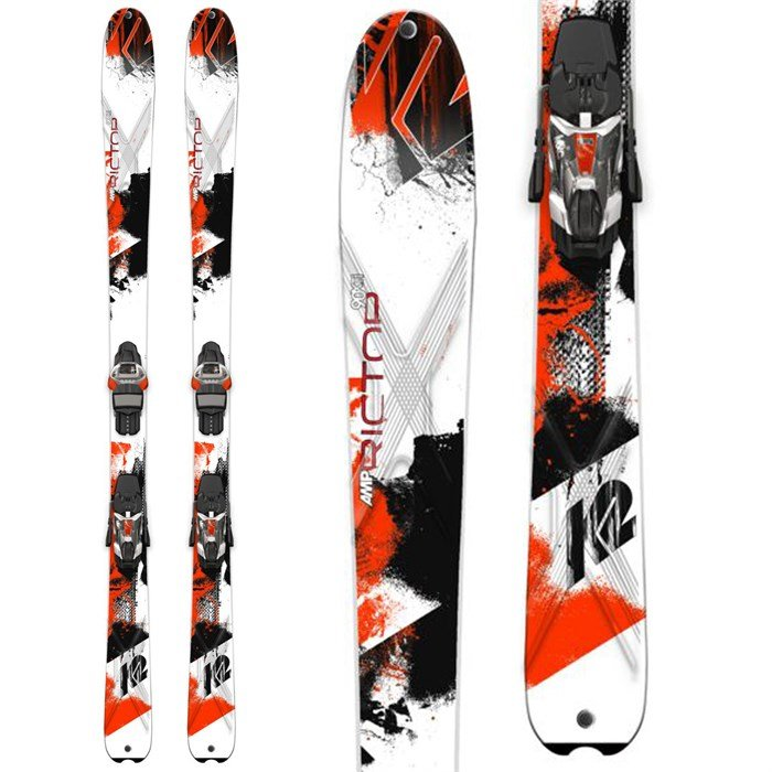 K2 - AMP Rictor 90 XTi Skis + MXC 14 Bindings 2015