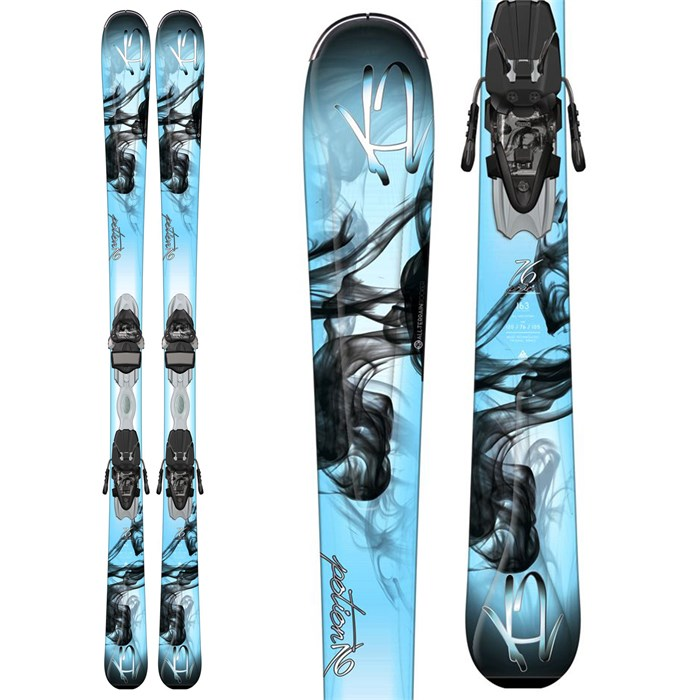 K2 - K2 Potion 76 Skis + ER3 10 Bindings - Women's 2015
