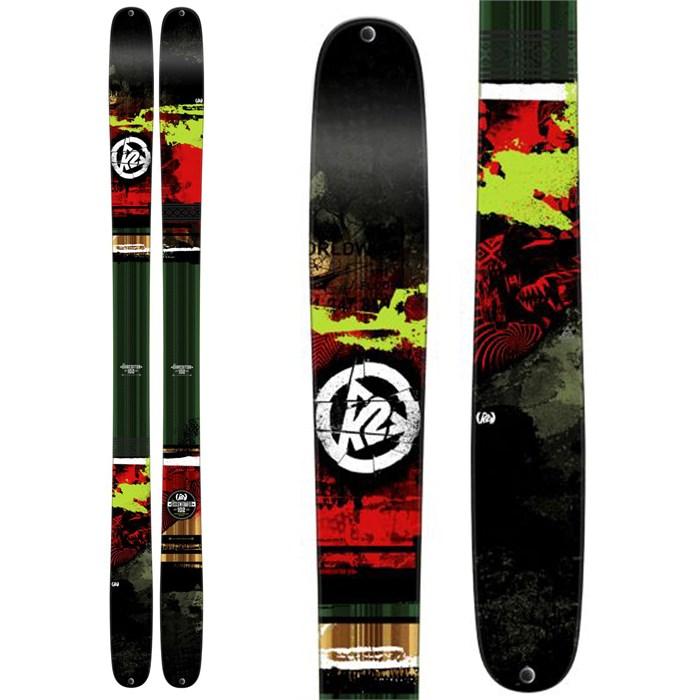 K2 - Shreditor 102 Skis 2015