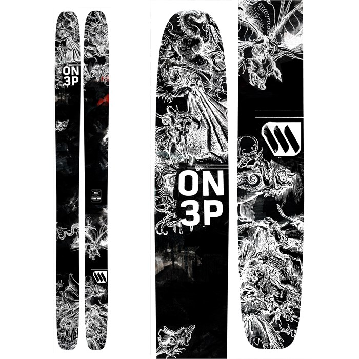ON3P - Cease & Desist Skis 2015