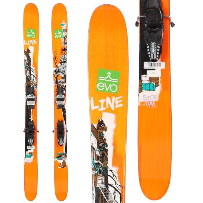 Line Skis Sick Day 110 Skis + Marker Griffon Demo Bindings